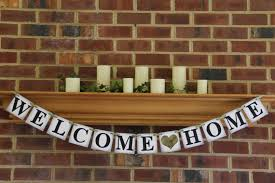 military welcome home decorations welcome home banner party decoration military by bannerbash 22 00