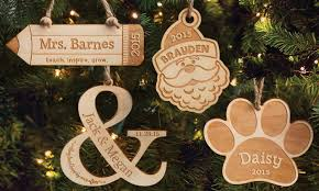 personalized planet wooden ornaments groupon