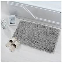 Shag Bathroom Rug Soft Bath Mat Microfiber Shag Bathroom Rugs Non Slip