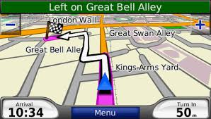 navigation map routing voice navigation with custom maps