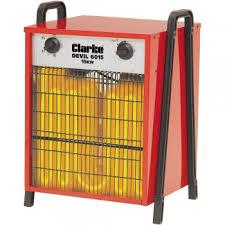 Twist By Clarke Amp Clarke Devil 6015 Industrial Electric Fan Heater 400v