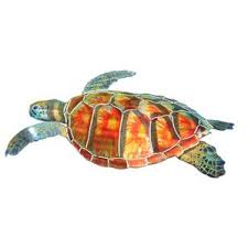 Sea Turtle Bathroom Accessories Nautical Metal Wall Art You U0027ll Love Wayfair