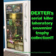 Scary Halloween Decorations Ebay by Zombie Laboratory Horror Refrigerator Door Cover Scary Halloween