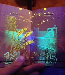 is there a black light app that works canada s new passport reveals hidden images under uv light bored panda