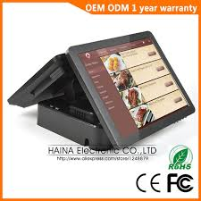 ingenico siege social haina touch 15 inch wireless touch screen pos terminal ingenico dual