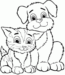 dog coloring pages for girls coloring home
