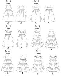 mccall u0027s 6100 toddlers u0027 children u0027s dresses