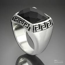 cool mens rings stainless steel jewellery cool rings retro hollow chunky square