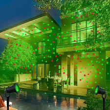 christmas laser lights for house outdoor waterproof elf christmas lights green red laser projector