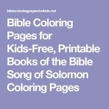 bible coloring pages kids free printable books bible