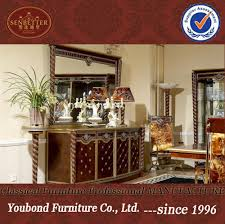 0026 antique classic dining room furniture buffet and mirror
