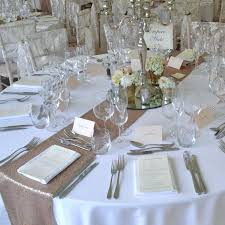wedding reception table runners table runner ideas wedding enchanting table runner on round table