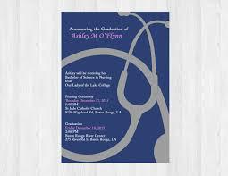 nursing invitation printable nurse graduation invites