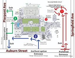 Rockford Illinois Map by Auburn Announcements Auburn Pick And Drop Off Map