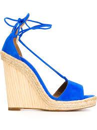 aquazzura fringe sandals cheap aquazzura alexa wedge sandals blue