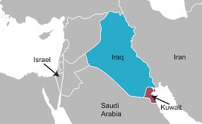iraq map vector the gulf war article 1990s america khan academy