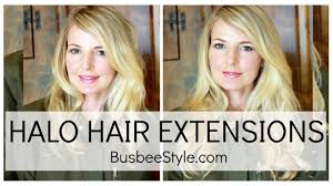 hair extensions reviews halo hair extensions review busbeestyle