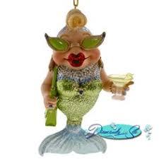 december diamonds gin mermaid ornament ornaments
