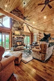 mountain home interiors mountain home decor idea a mountain log home in new mountain home