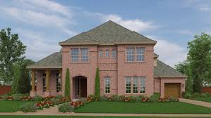 Jefferson Floor Plan by Jefferson Floor Plan In Creekside At Colleyville Bordeaux Series
