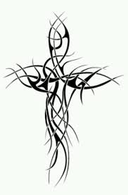 tribal cross design tattoos ideas tribal