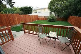 Inexpensive Backyard Privacy Ideas Backyard Deck Privacy Ideas Intended For Backyard Deck Simple