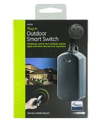 ge z wave wireless smart lighting control outdoor module on off