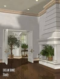 dream home the study 3d models and 3d software by daz 3d