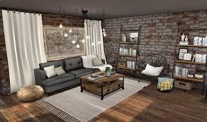 loft style living room decor color ideas fresh and loft style