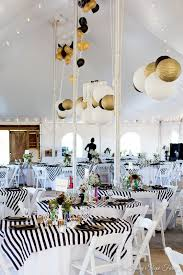 gold wedding theme black white and gold rustic chic wedding