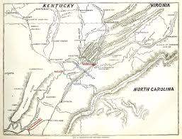 Cleveland Tennessee Map by 1863 November 28 Burnside And The Chattanooga Campaign The