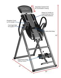 innova heavy duty inversion table amazon com innova itx9800 inversion therapy table with ankle