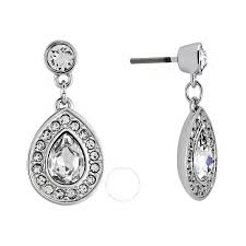 pierced earring swarovski sensation small pierced earrings 1156257 swarovski