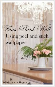 accent wall and simple kitchen updates white lace cottage