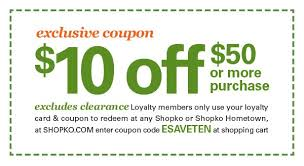 shopko exclusive 10 coupon inside milled intended for shopko