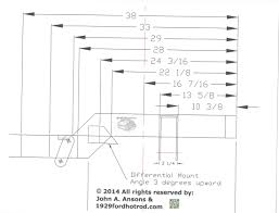 1984 87 c4 corvette frame plans for the model a ford rod