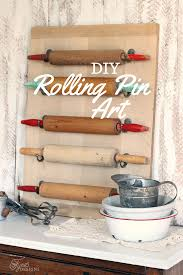 Kitchen Wall Decor Ideas Diy Easy Diy Rolling Pin Wall Art Fynes Designs Fynes Designs