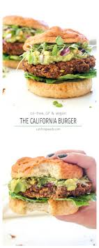 cuisiner vegan california burger recette recettes cuisines et entrées