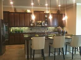 Kitchen Dark Cabinets Backsplash Dark Countertops Home Design - Kitchen backsplash with dark cabinets
