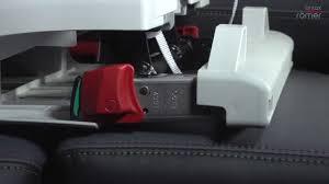 siege auto romer king bob britax römer installation du siège auto advansafix