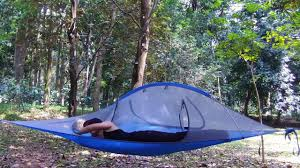 skysurf tensile hanging tree tent triangle two person hammock
