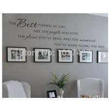 Wall Quotes For Living Room by Love Family Quotes Vinyl Wall Sticker People Place Memories