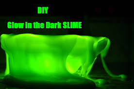 diy glow in the dark slime easy and simple youtube