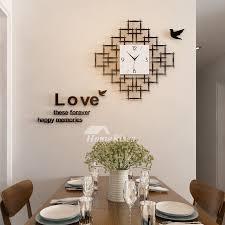 living room wall clock room wall clocks acrylic hanging silent decorative modern