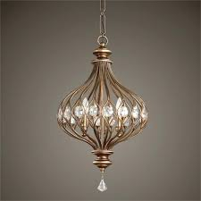 Jar Pendant Light Metal Orb Pendant Light Uttermost 3 Light Pendant In Gold Mason