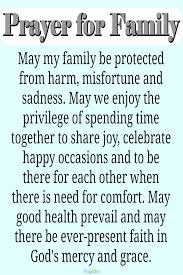 say a prayer for your family and be blessed get more