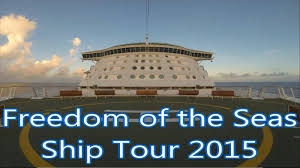 freedom of the seas floor plan freedom of the seas complete ship tour 2016 youtube
