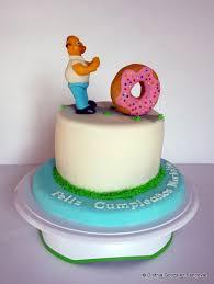 homer chasing donut cake cakecentral com