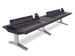 Argosy Console Desk Argosy Eclipse Desk For Avid S6 Dual 5 Bay With Center Desk