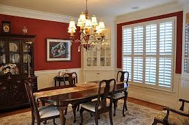 Traditional Dining Room Sets Traditional Dining Room With Wainscoting Crown Molding In